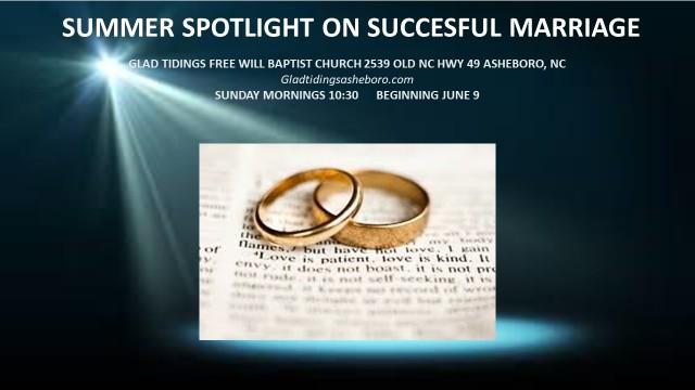 marriage series promo